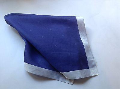 100% Cotone Pocker Square Fazzoletto Dal British Designer Daks Viola A10-mostra Il Titolo Originale Prezzo Moderato