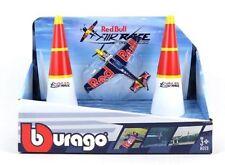 Red Bull Air Race Pylons Airplane Model Diecast set 1/100 Scale Bburago