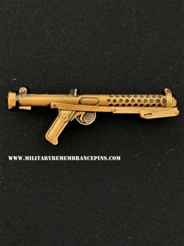 W4 Sterling Submachine Gun L2A3 Weapon Lapel Pin