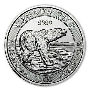 2018-Canada-Polar-Bear-1-2-oz-9999-Silver