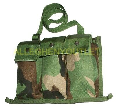 FITS 8 MAGAZINES NEW 8 Magazine Pouch Large Utility Pouch WOODLAND MOLLE