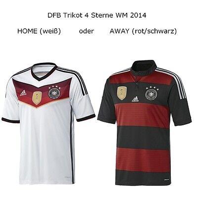 adidas DFB 4 Sterne Deutschland Heimtrikot Auswärtstrikot Home AWAY 2014 - 2016
