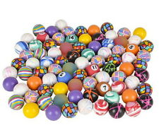 500 MIXED 27MM SUPERBALLS, HIGH BOUNCE, VENDING BALLS, BOUNCY PARTY CARNIVAL