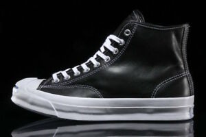 b85bf2fe6585 NIB  150 Converse Jack Purcell Signature Hi Leather Black 153586C US ...
