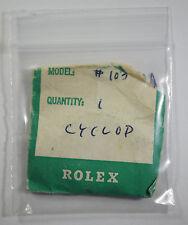 Genuine Rolex 103 Tropic Cyclop Plastic Plexi Acrylic Watch Crystal 25-103