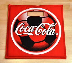 Coca-Cola-Coke-Stadion-Sitz-Kissen-Stadionkissen-Sitzkissen-Sitzauflage
