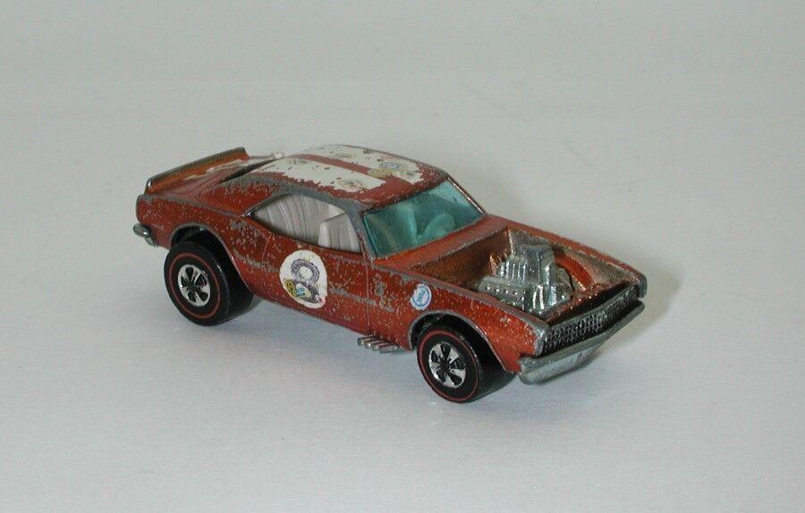 Redline Hotwheels orange 1970 Heavy Chevy oc15204
