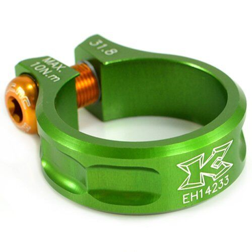 Green KCNC SC11  Seat Post Clamp 7075 Alloy 31.8mm