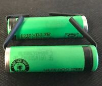 Brand 2 Sony Us14500vr2 14500 Aa 3.7v 680mah Rechargeable Battery W/ Tabs