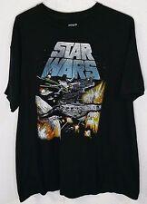 Star Wars LICENSED Mens Black 100% Cotton Short Sleeve T Shirt XXL
