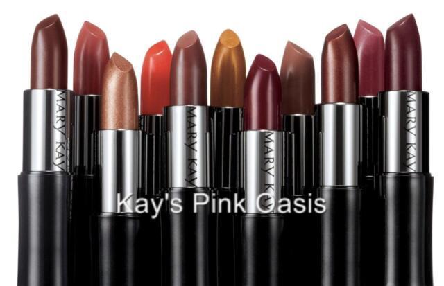 Mary Kay Creme Lipstick New in Pink & Black Box  * U Pick *