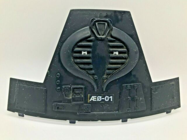 GI Joe Cobra Terror Drome playset Workstation Panel A part piece accessory 1986