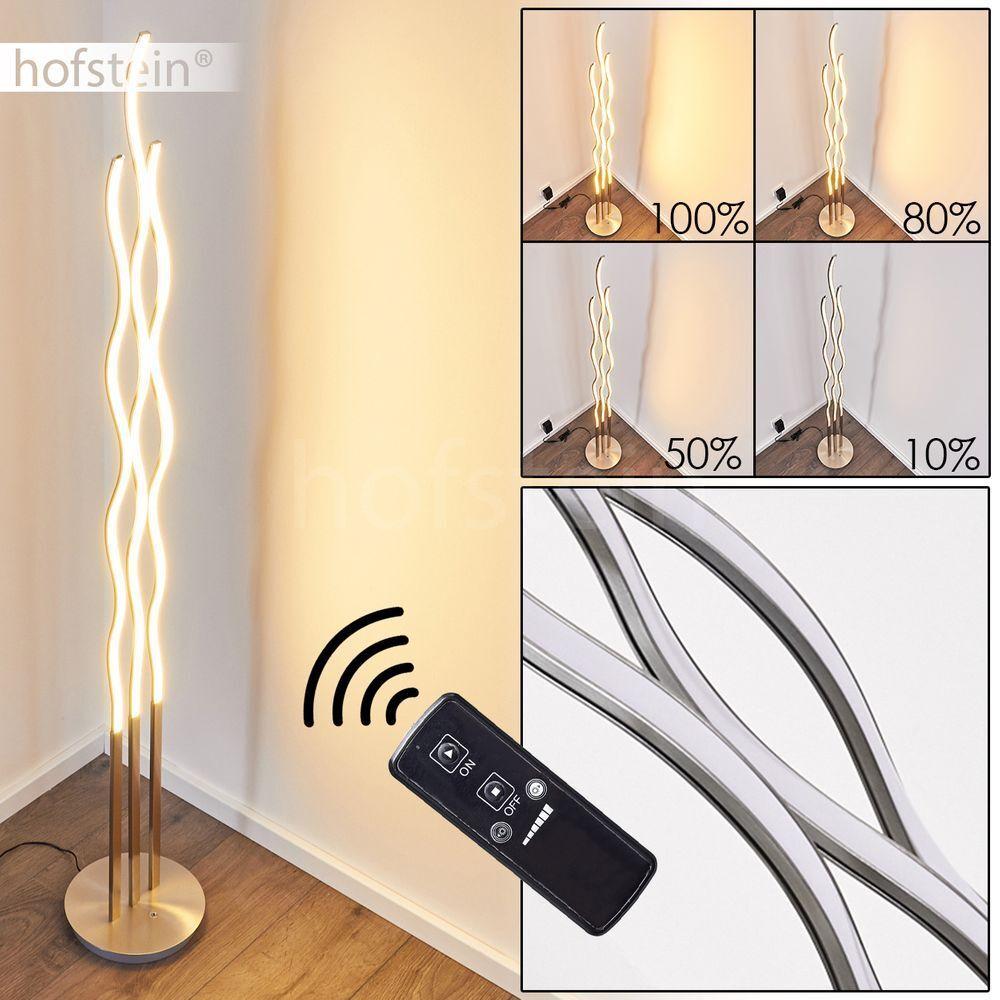 Reality Trio Deckenlampe R8861-07 Hilton 180cm G9 nickel Glas  Lampe Leuchte Neu