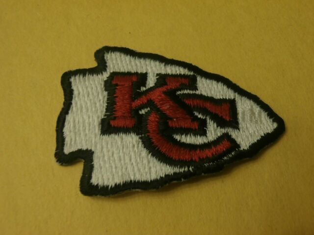 Kansas City Chiefs Logo Nfl Football Iron On Patch Ebay