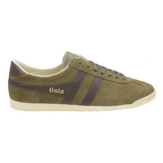 Gola classics shoes men shoes Bullet Suede Khaki Vintage CMA153 172 Sneakers