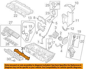 details about volvo oem 08 13 c30 engine intake manifold gasket 31430420 volvo c30 reliability volvo c30 engine diagram #9