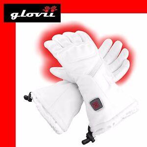 Glovii-Universal-Ski-Battery-Heated-Gloves-size-M-white