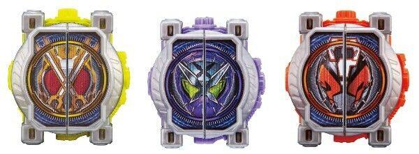 NEW Kamen Rider Zi-O DX Kikai Miride Watch & Shinobi & Quiz Ride Watch 3 Set F S