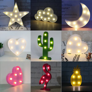 Battery-Powered-LED-Night-Light-Wall-Lamp-Baby-Kids-Bedroom-Decoration-Cute-Gift