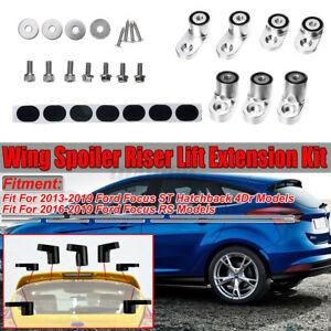 Ford Fiesta ST Anodised Aluminium Rear Wing Spoiler Hatch Riser Lift Extension