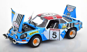 Kyosho-Renault-Alpine-A110-Tour-de-Corse-1973-Piot-de-Alexandris-5-1-18-New
