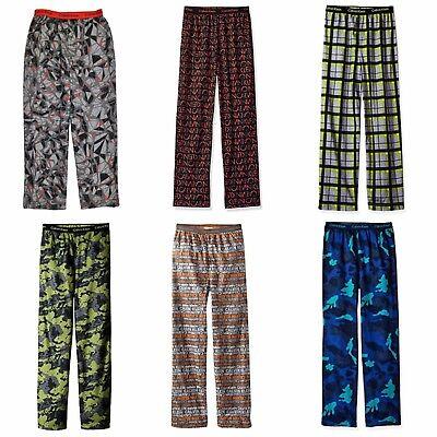 Calvin Klein Boys Pajama Pants Lounge Sleep Pajamas XS 5 6 or S 7 8, New |  eBay