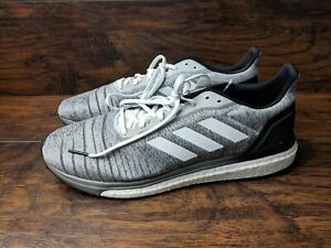 Details about Adidas Boost Solar Drive Men's Size 11 Running Shoe Gray White Black AQ0337
