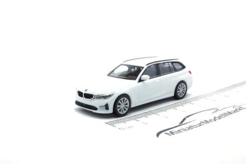1:87 Herpa BMW 3er Touring - alpinweiß #420839 G21