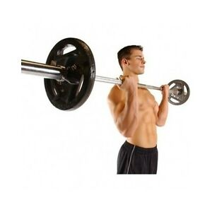Image Is Loading Olympic Weight Bar 5 Foot Lifting Barbell Shrug