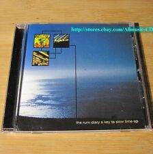 The Rum Diary - A Key To Slow Time 2002 CD Post-Rock Space Rock Dream Pop *30-1