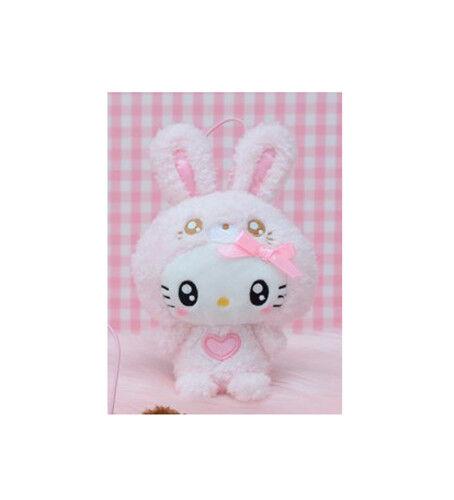 NEW Sega Sanrio Hello Kitty Pink Bunny Costume Plush 9cm SEGA1021946 US Seller