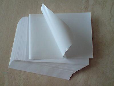 Gerade 100 Etiketten Din A5 Selbstklebend Weiß