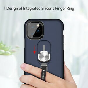 For-iPhone-11-Pro-Max-Magnetic-Finger-Ring-Holder-Stand-Armor-Hard-Case-Cover-UK