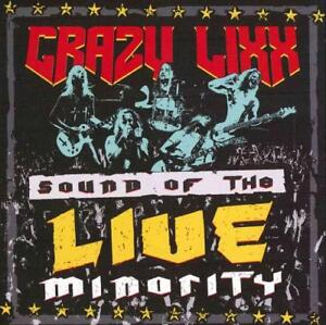 CRAZY-LIXX-SOUND-OF-THE-LIVE-MINORITY-USED-VERY-GOOD-CD
