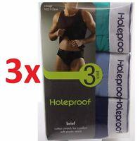Mens Holeproof Cotton 9 Pack Men's Brief Underwear Undies Cotton Size S M L Xl