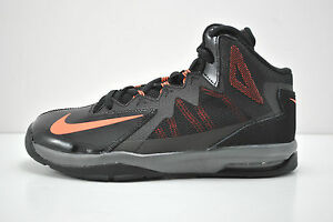 separation shoes d738d ca353 Image is loading Boy-Nike-Stutter-Step-2-GS-Basketball-Shoes-