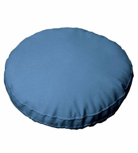 Pc508r Bleu Rond Imperméable PVC//PU épais matelas Housse De Coussin Taille personnalisée