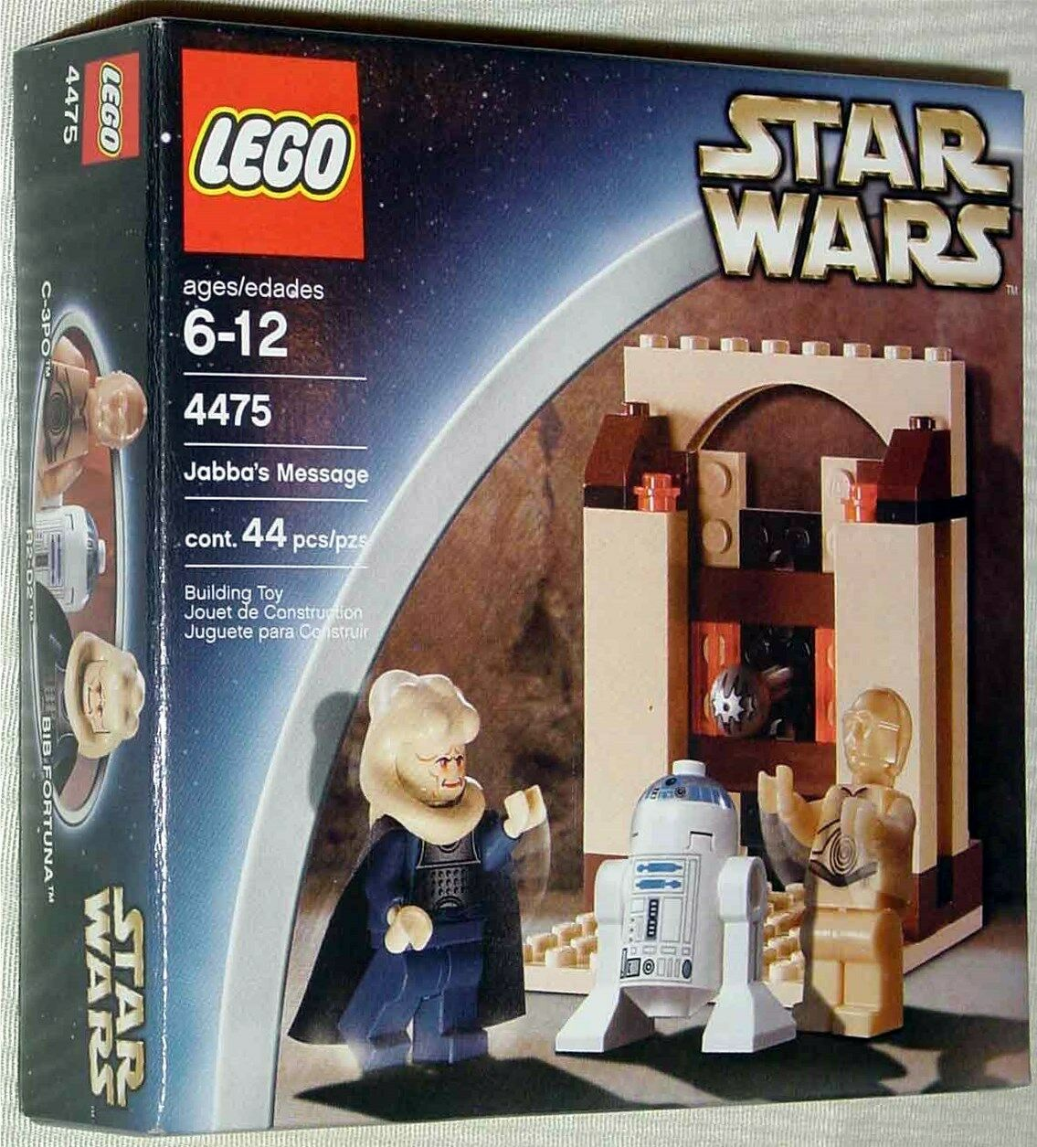 JABBA'S MESSAGE, Lego STAR WARS, Return of the Jedi, 4475, NEW in Sealed Box