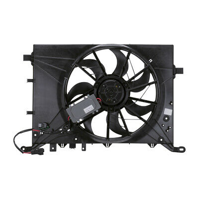 For Volvo S60 S80 V70 XC70 Dual Radiator and Condenser Fan Assembly TYC 622140