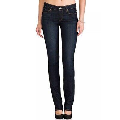 $179 Paige Premium Skyline Gamba Dritta Jeans 27/28 Scuro Euc 4049 Prestazioni Affidabili