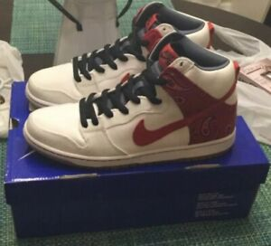 promo code e49d3 92bae Details about Nike SB Dunk High Cheech and Chong 420 Size 10.5 Deadstock  Skunk Weed Dog Walker