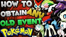 """120+ Event Pokemon """"Guides"""" *YOU PICK AND CHOOSE!* Nintendo 3DS XY ORAS SUN MOON"""