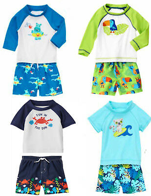 Rash Guard Swimsuit UPF baby Gap NWT Girl/'s 12 18 24 Mo 2T 3T 4T 5T 2 Pc
