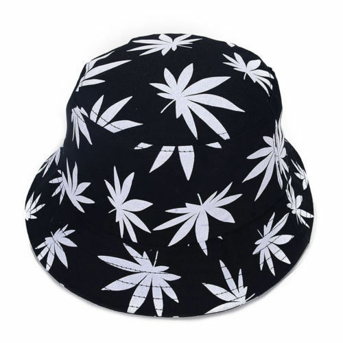 New Fashion Summer Outdoor Hat Bucket Men//Women Weed Adults Cap Foldable Cotton