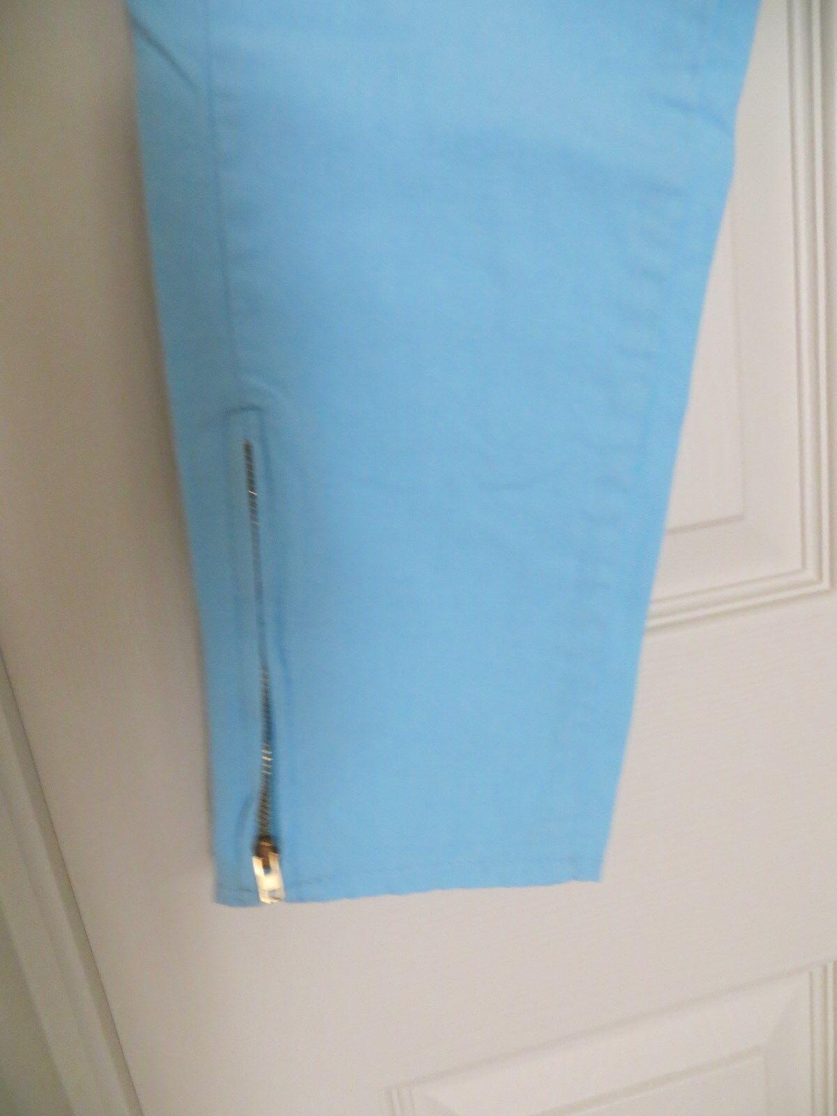 womans skinny jeans pants blue cotton 31/28 Chemi… - image 3