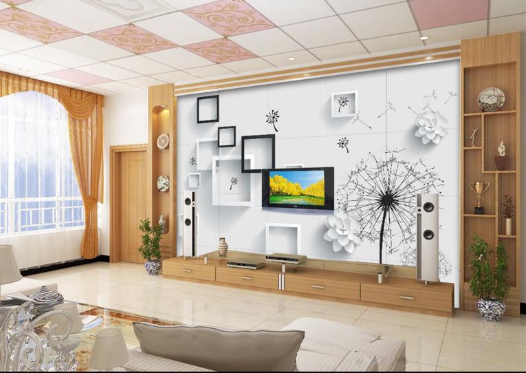 3D Rahmen Und Blaumen 94 Tapete Wandgemälde Tapete Tapeten Bild Familie DE Summer