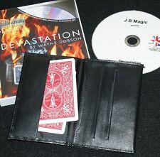 Z-fold wallet, plus Devastation (All Backs Card to Wallet routine)      TMGS