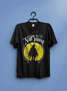Neil-Young-Vintage-Solo-US-Tour-93-T-Shirt-by-gildan-New-reprint