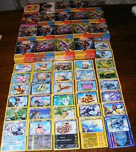 Lot-de-20-cartes-Pokemon-Brillantes-Holo-reverse-Neuve-Francaise