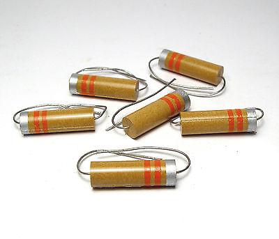 axial 6x HF-bobina//inductancia//zorzal 3.3 µh resistencia-forma compacta 8 x 25mm